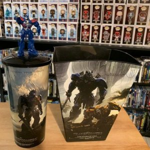 Transformers Popcorn Tub and Cup