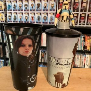 Star Wars Cups and Cup Topper
