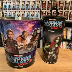 Guardians of the Galaxy Popcorn Bucket and Cup with Topper
