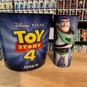 Toy Story Popcorn Tub and Cup