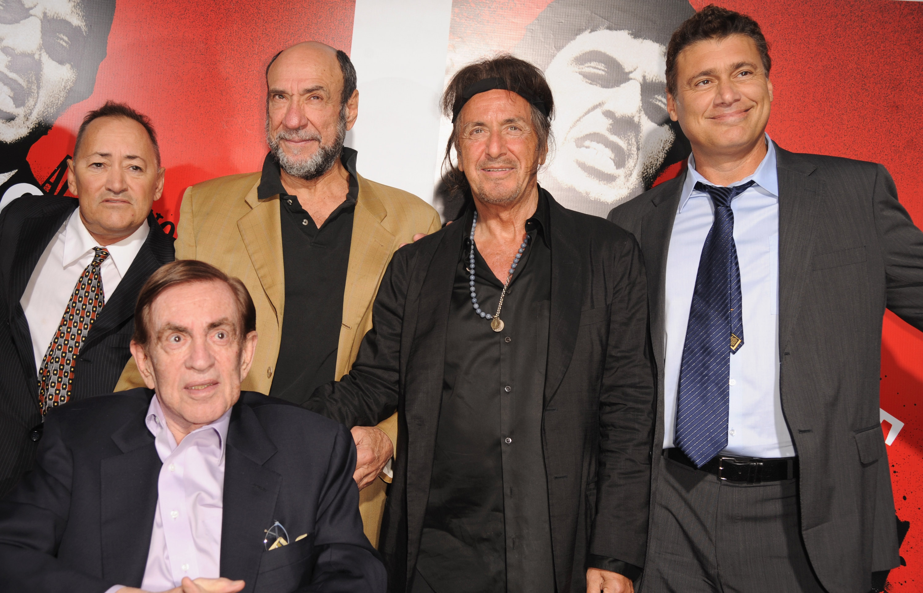 Scarface Blu-ray Cast Reunion and Release Party   Hi-Def ... Al Pacino Impression