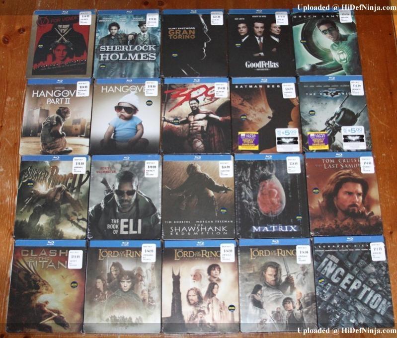 Warner Bros Best Buy Exclusive Steelbooks Releasing In