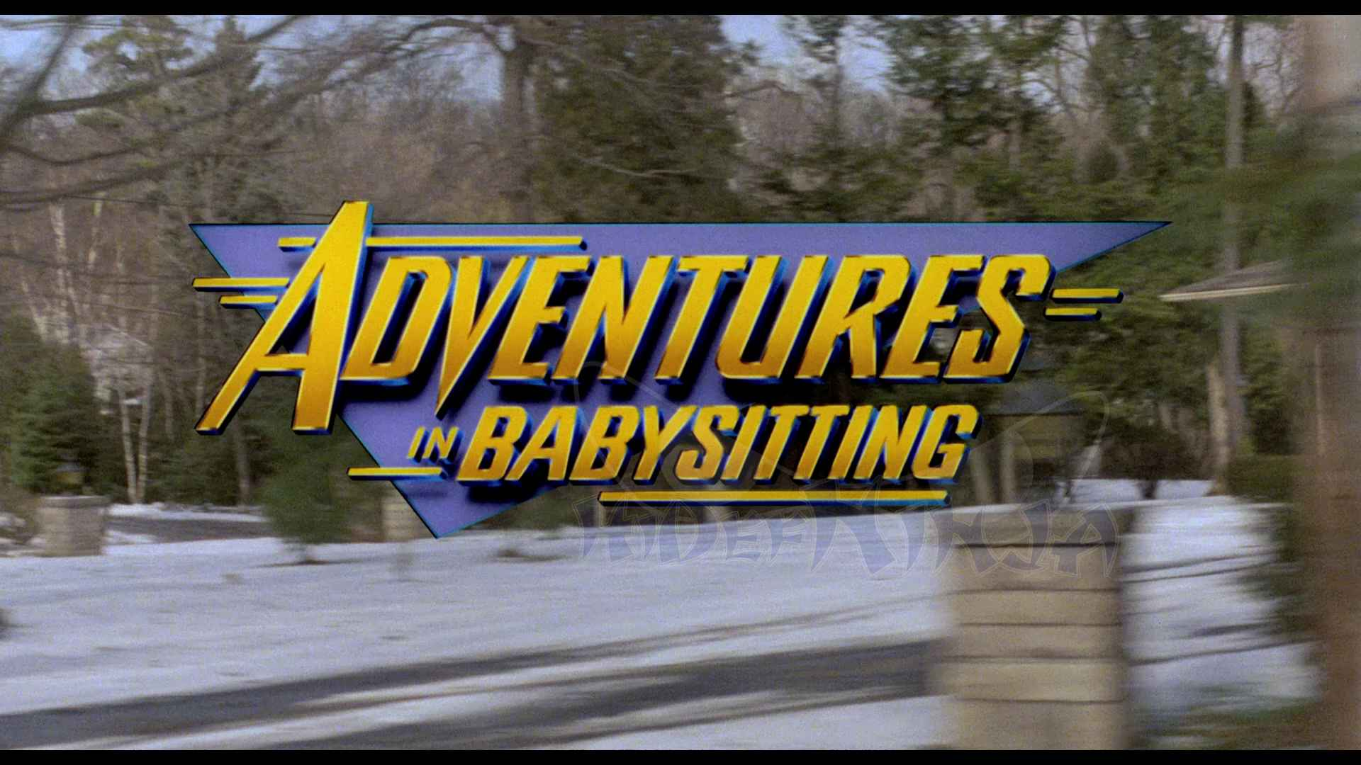 Adventures in Babysitting Blu-ray Review  Hi-Def Ninja - Blu-ray SteelBooks - Pop Culture