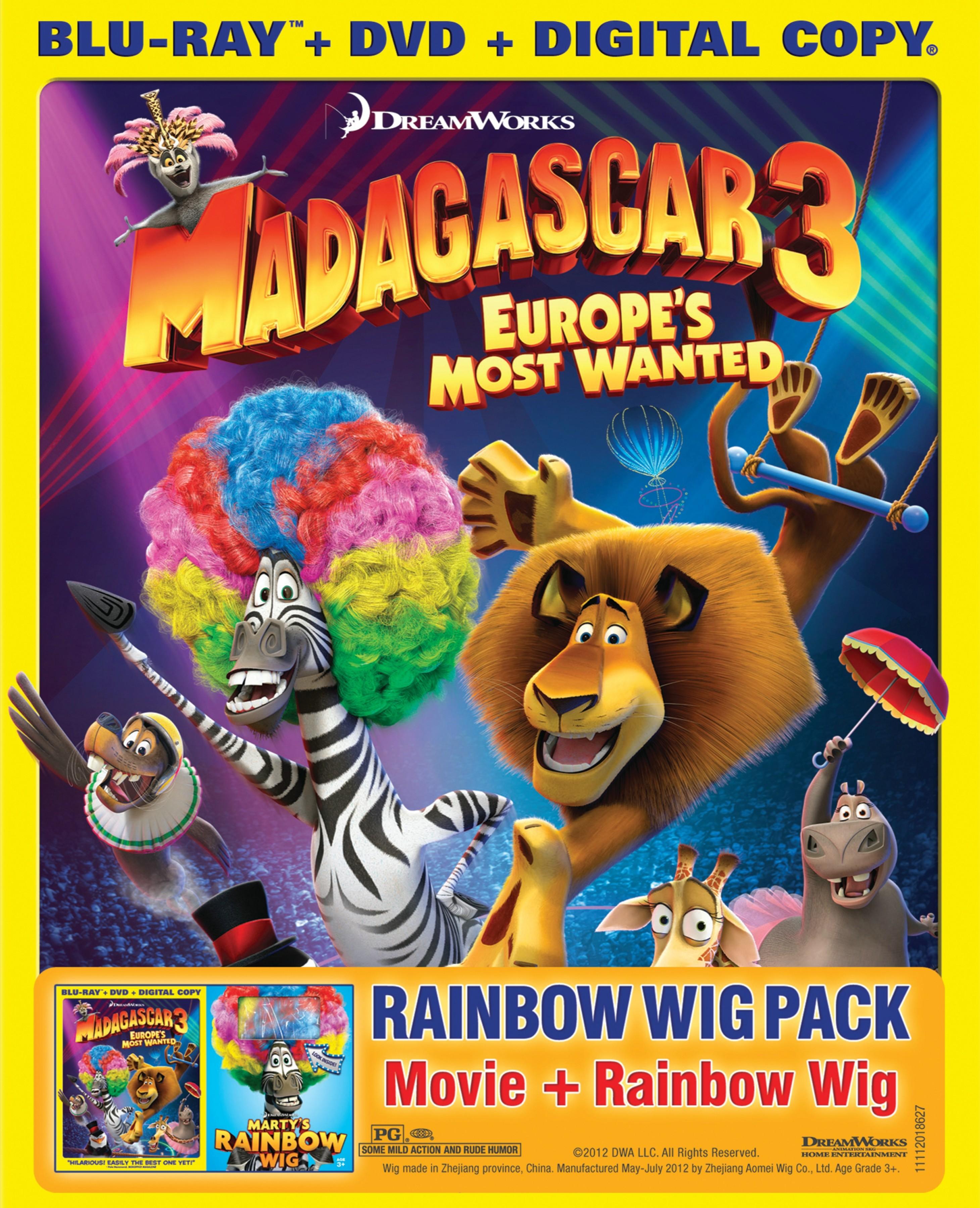 Madagascar 3 Set For Mid October