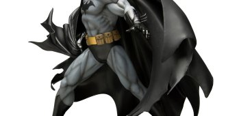 batman kotobukiya black costume