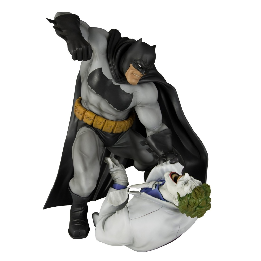 Kotobukiya The Dark Knight Returns: Batman vs. Joker ArtFX ...