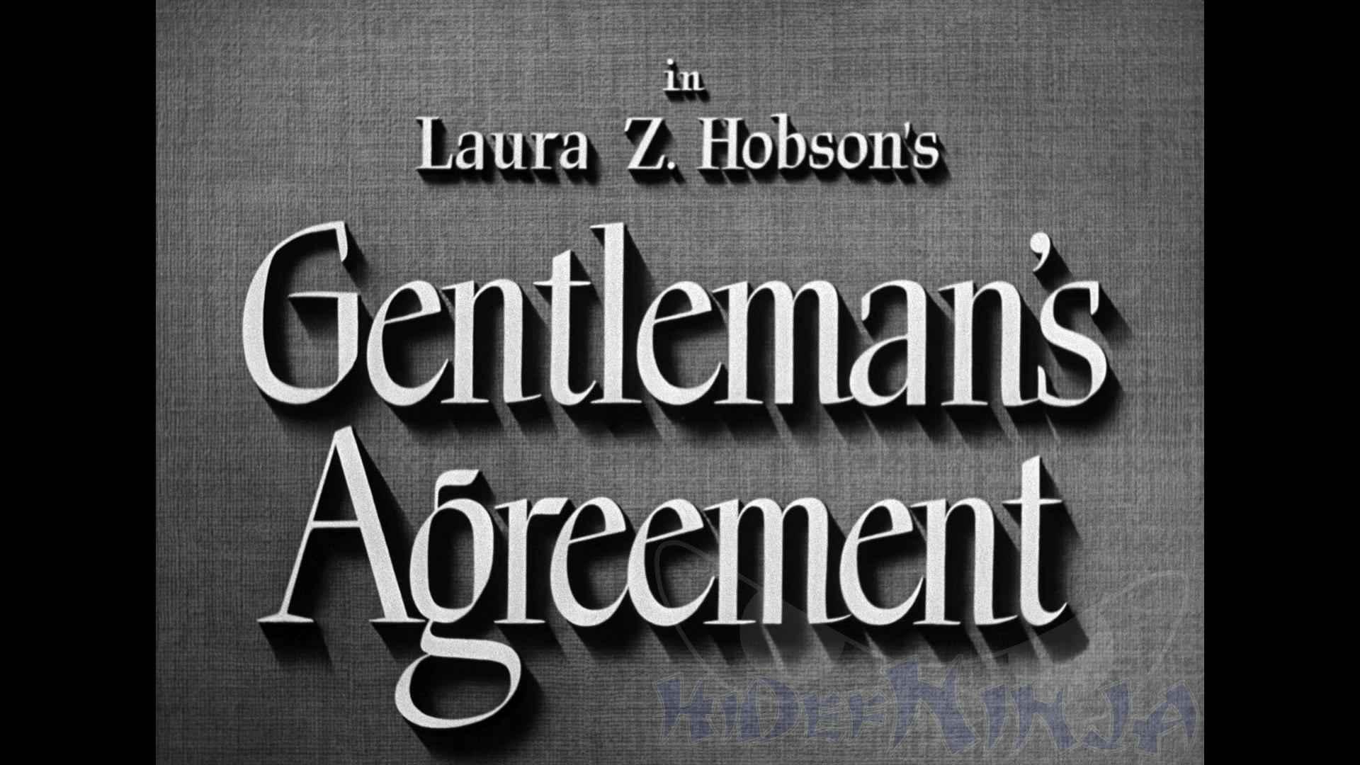 Gentlemans Agreement Blu Ray Review Hi Def Ninja Blu Ray