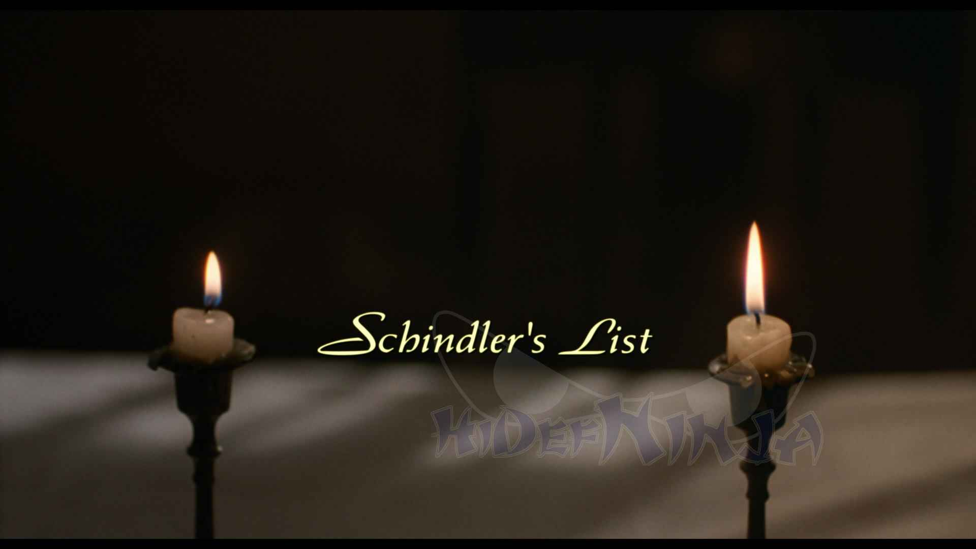 schindlers liste dvd