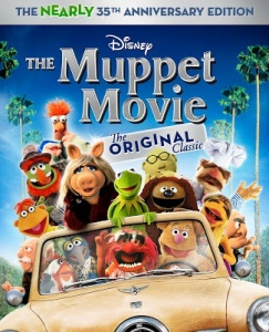 Muppet movie blu cover