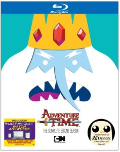 adventure time s2 cover