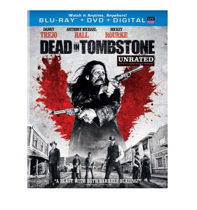 Dead in tombstone cover