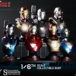 Iron Man HT bust set 03