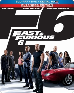 Fast and furious 6 cover