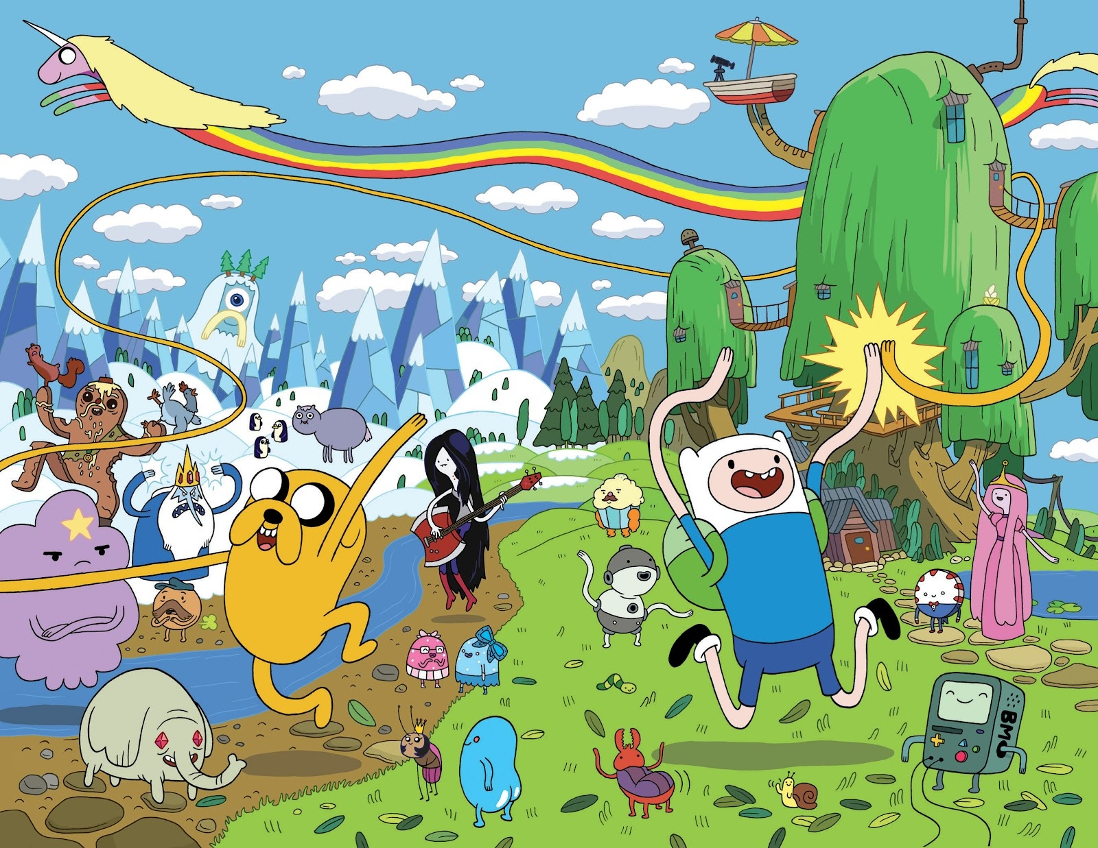 Adventure time large