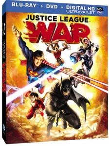 Justice league war blu cover
