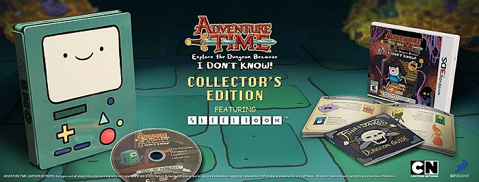 Adventure time 3ds banner