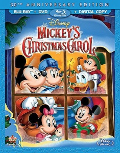 Mickeys Christmas Carol cover