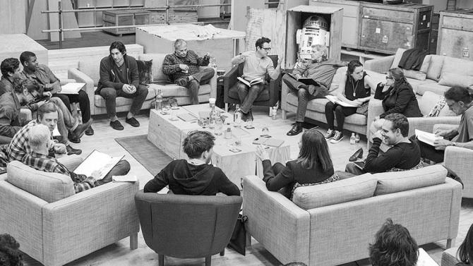 Star Wars ep VII cast