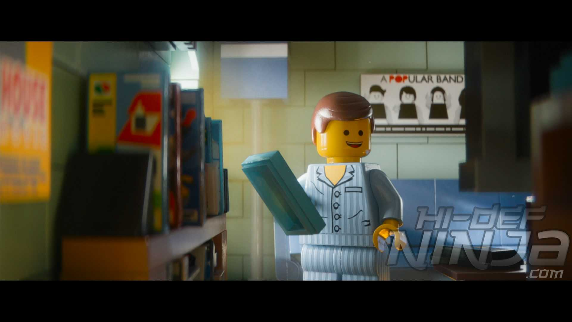 The Lego Movie Everything Is Awesome Blu Ray Review Hi Def Ninja Pop Culture Movie Collectible Community