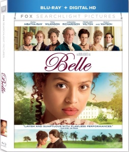 Belle Blu-ray cover