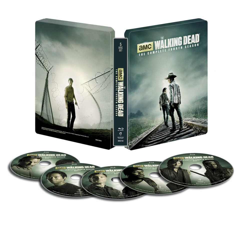 TWD S4 Steelbook layed out