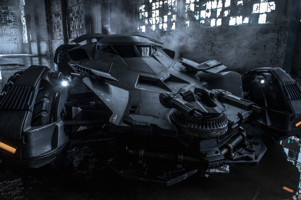 Do you like the new incarnation of the Batmobile?