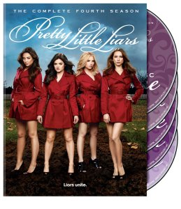 Pretty little liars s4 dvd cover