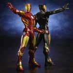 iron man Marvel NOW red and brown