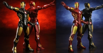iron man marvel NOW artfx both