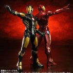iron man marvel NOW brown and red