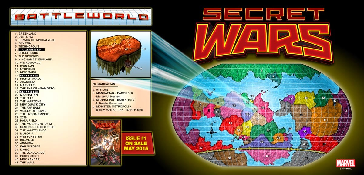 Secret Wars Battleworld