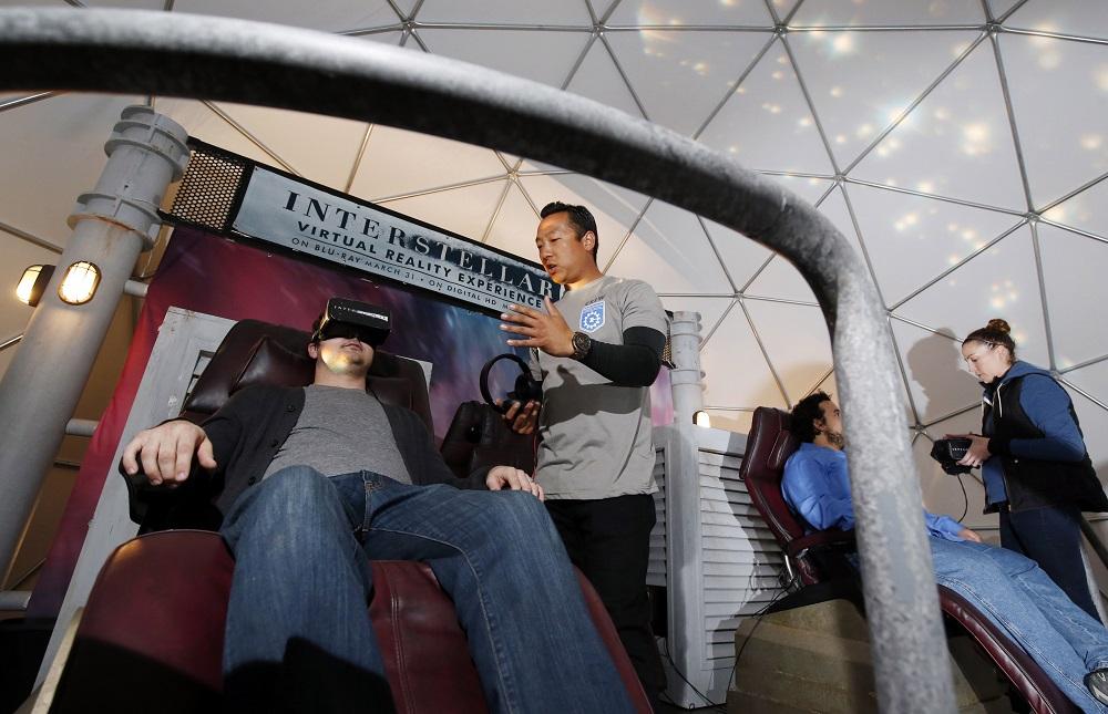 """""""Interstellar"""" SXSW Virtual Reality Experience"""