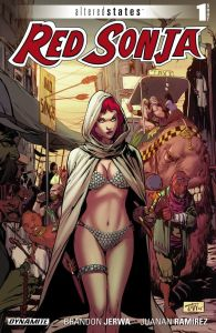 altered sated red sonja issue 1
