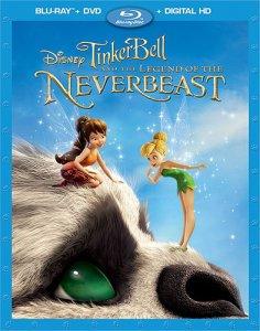 tinker bell never beast cover