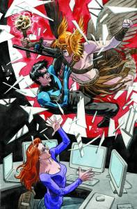 convergence nightwing oracle issue 1