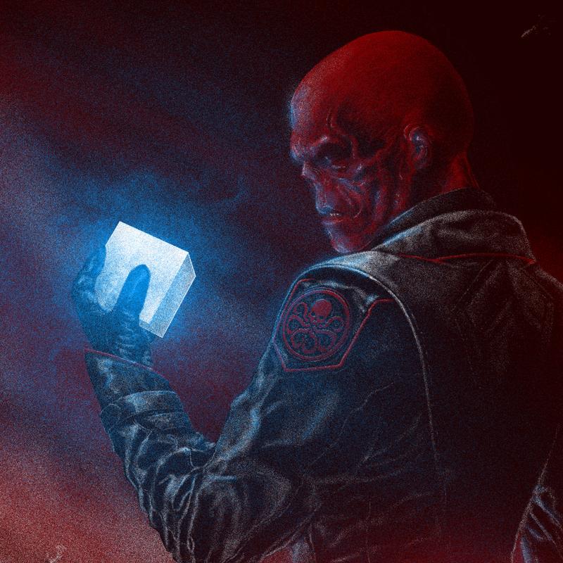 Captain America The First Avenger Red Skull Detail 2