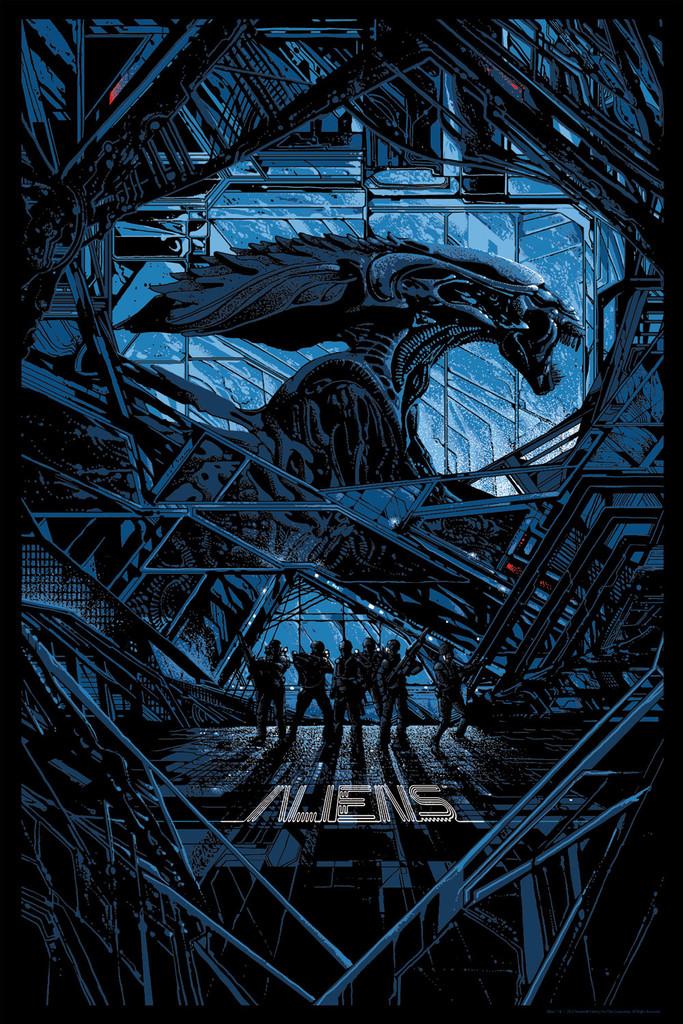 MONDO Aliens print