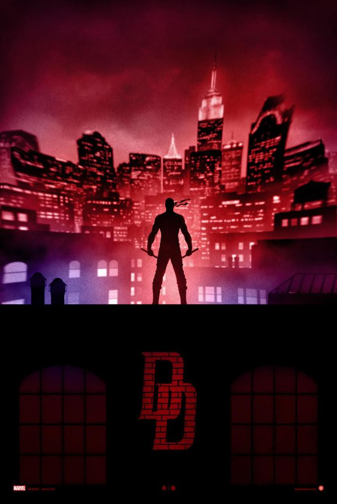 Marvel Knights Presents DareDevil Reg ad