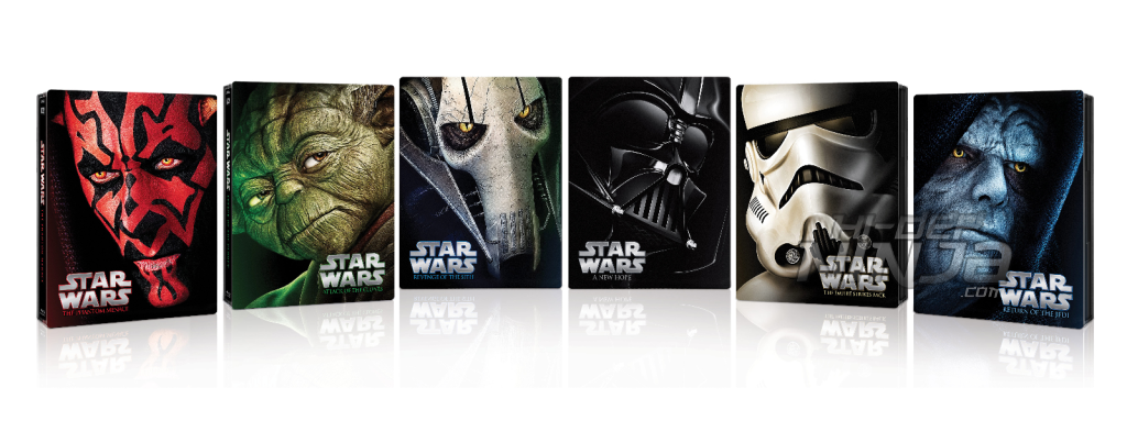 star wars steelbooks newest