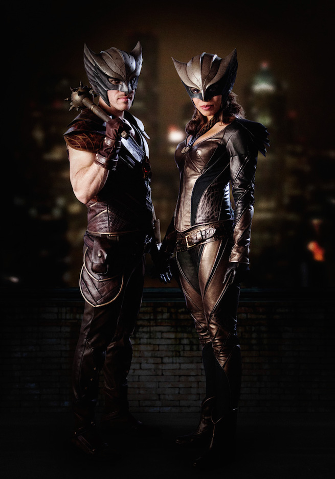 DC legends hawkman and hawkgirl