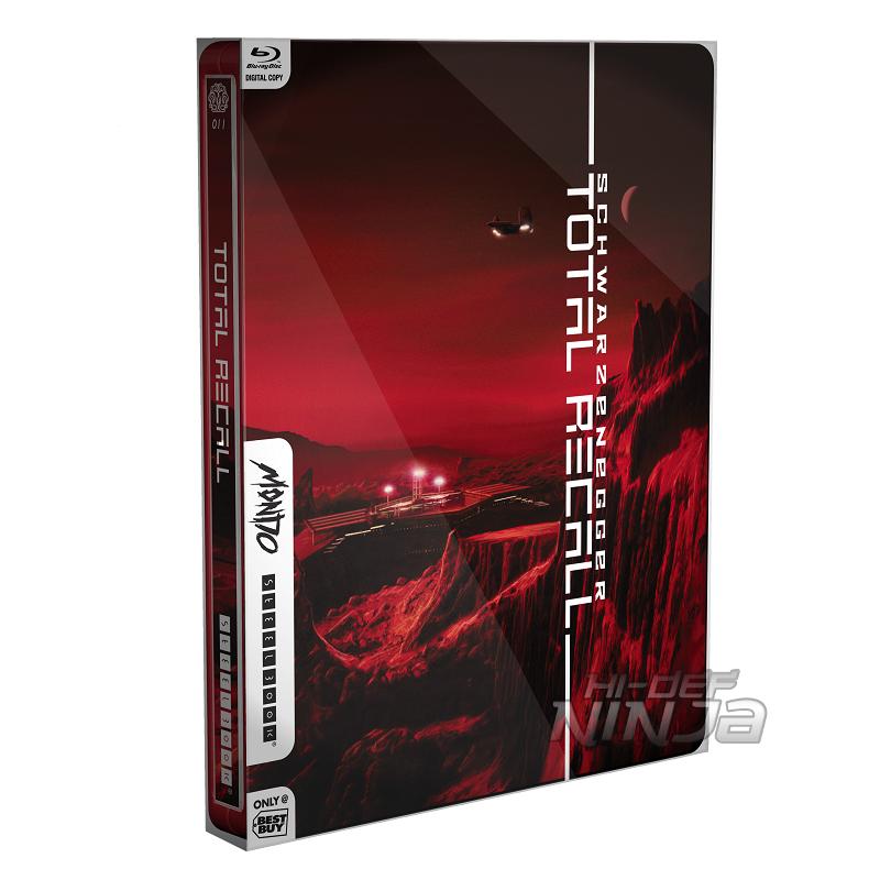 TotalRecallMondoXSteelBookSleeveFront