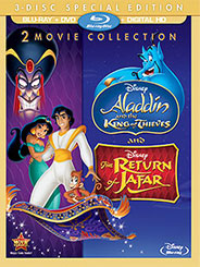 Aladdin Sequels Arrive On Blu Ray Exclusive To Disney