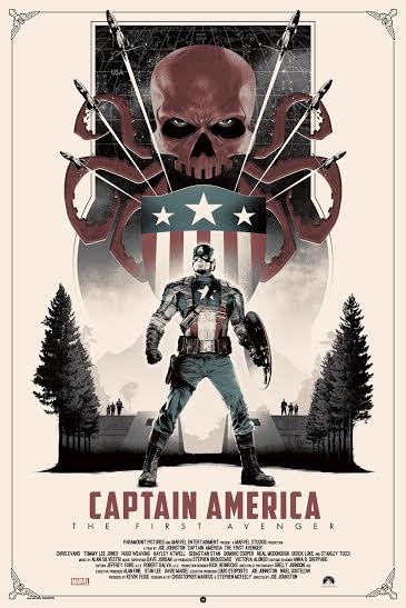 NYCC Grey matter Marvels Captain America The First Avenger 7-25 variant edition