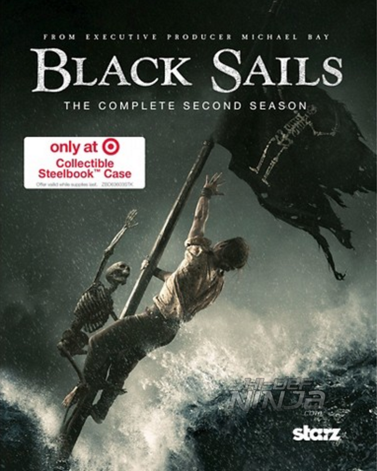 Black Sails 2 SteelBook