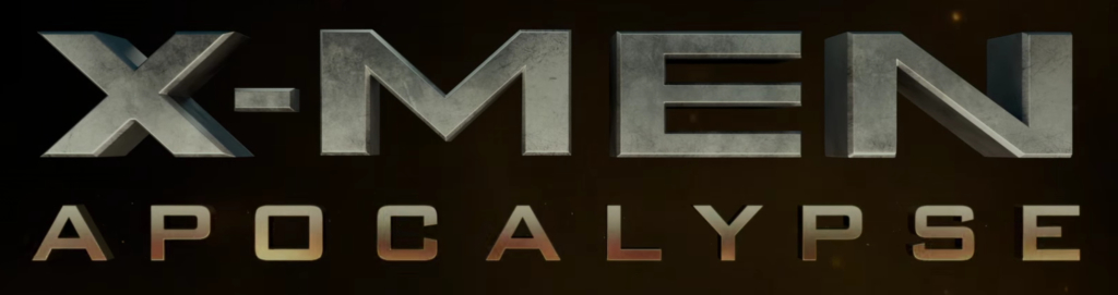 X-Men Apocalypse title