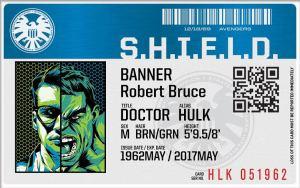 the hulk-grey matter-Sticker