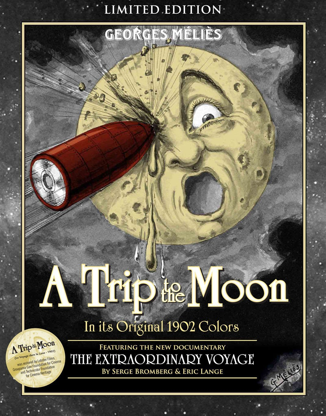 A TRIP TO THE MOON Blu-ray SteelBook
