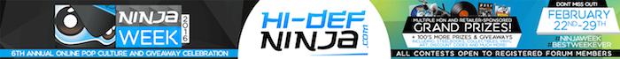 Ninja Week banner