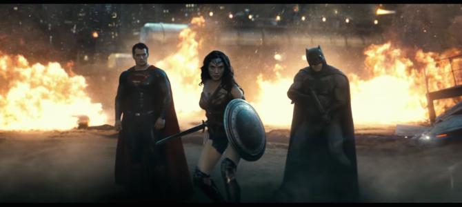 Superheroes in Film - Batman v Superman