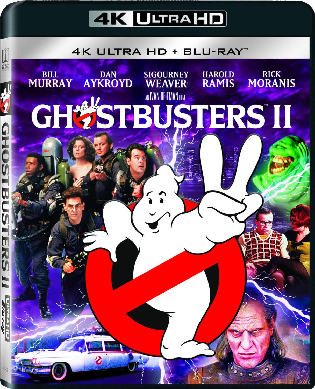 ghostbusters 2 4K Cover